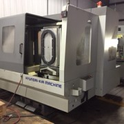 MIC ALL's machine shop is equipped with a CNC Horizontal Machine