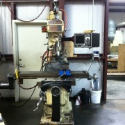 MIC-ALL's machine shop is equipped with a Chevalier knee mill