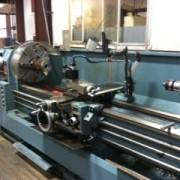 MIC-ALL's machine shop is equipped with a Kingston Engine Lathe