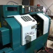 MIC-ALL's machine shop is equipped with a Nakamura lathe