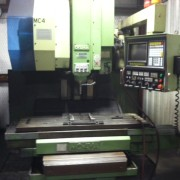 MIC-ALL's machine shop is equipped with a OKUMA VMC