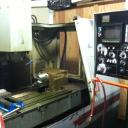 MIC-ALL's machine shop is equipped with a TREE ZPS VMC 1050